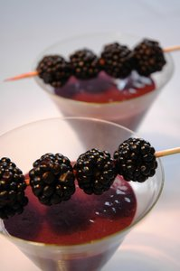 Blackberry smoothies 1