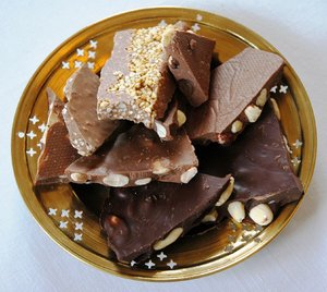 Chocolate with nuts 3