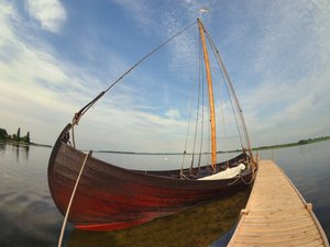 Viking ship - HDR
