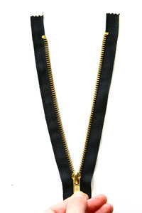 Zipper: black zipper