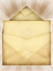 Envelope: A vintage envelope.Please search for 'Billy Alexander'in single quotes at www.thinkstockphotos.com