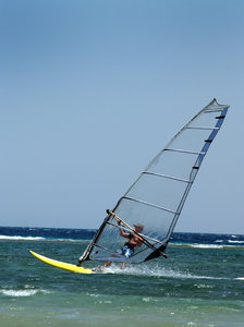 Windsurf 1: Windsurfing in Egypt.