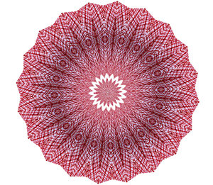 red mesh mandala: abstract backgrounds, textures, patterns, geometric patterns, kaleidoscopic patterns, circles, shapes and  perspectives from altering and manipulating image