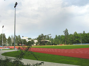 Spala stadium: Just a stadium in Spala, Poland.