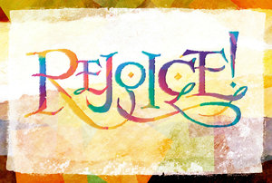 Rejoice 3: Variations on the word