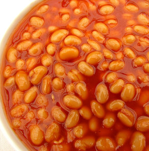 baked beans: baked beans in tomato sauce