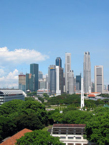 Singapore CBD: This is the Singapore CBD area