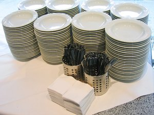 catering - soup plates