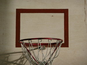 Basketball 2: Basketball basket in a gym