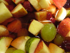 Fruit Salad 1: A tasty fruit salad.