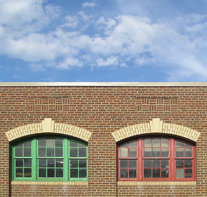 Windows in Brick