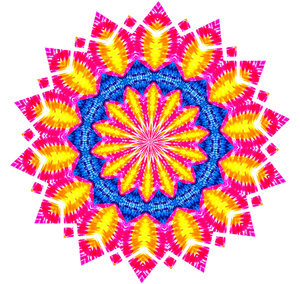 tiedycolors mandala: abstract backgrounds, textures, patterns, geometric patterns, kaleidoscopic patterns, circles, shapes and  perspectives from altering and manipulating image