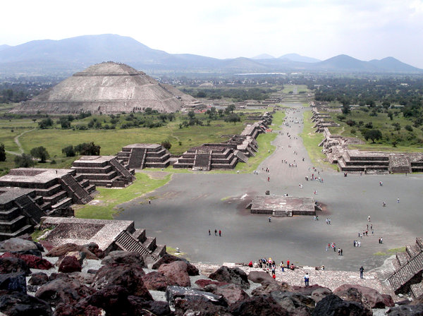 Teotihuacan: shots taken in mexico, summer 2006