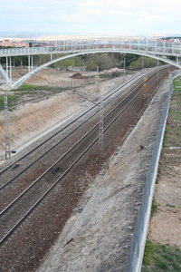 Infrastructure railway: Madrid Railways.