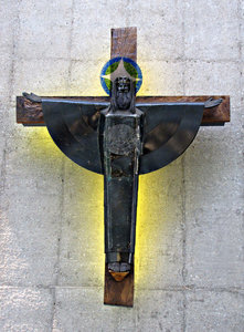 symbolic crucifix: symbolic Australian crucifix