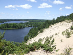 Sand Dune: Sand Dune in Upper Michigan