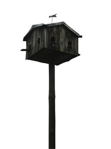 Birdhouse: An original, huge birdhouse from Łowicz.