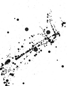 Grunge paint splatter