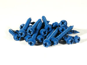 Masonry Screws: Screws designed to hold in brick, concrete and plaster.