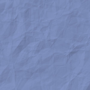 Crumpled Coloured Paper Blue