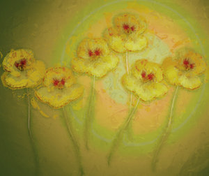 Nasturtium Abstract 3