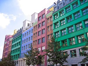colourful facades