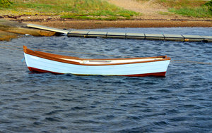 Boat: Rowing boat, summer, water, colorful, nature