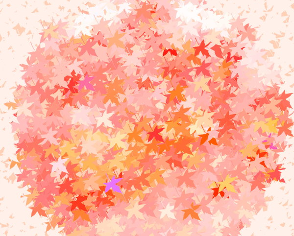 Coloured Leaves 1: Great backgrounds of coloured leaves. Excellent texture or fill, and can represent autumn or fall, spring, summer or the outdoors, etc.