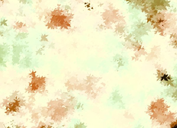 Autumn Leaves: Abstract background of autumn or fall leaves. Great backdrop, texture, paper or fill.