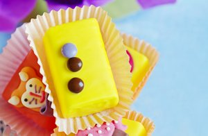Cup cake: colorful cupcakes for children