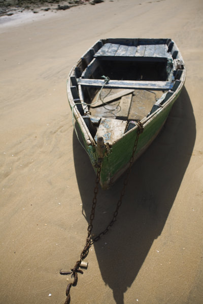 Old Boat: Old Boat in Punta Umbria (Spain)