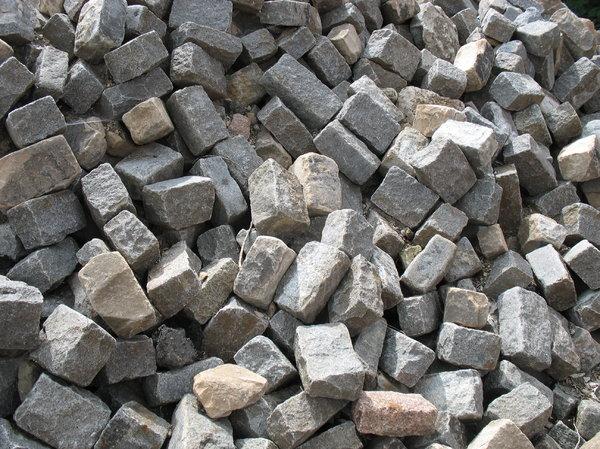Как сделать блоки из камня