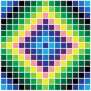 Sunshine&Shadow: a quilt pattern made in vectors