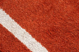 tennis field: detail of tennis field