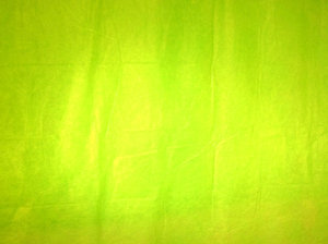 Green screen: A paper screen.