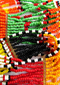 African beads3: hand-made African beaded bracelets