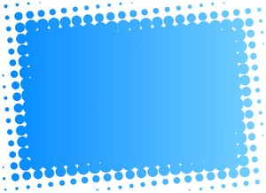 Dot Banner 3: A blue banner with a dotted edge.