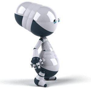 Robot: Fun cute robot