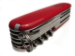 swiss knife 1: Old (or dirty :) swiss knife made by Victorinox, Swiss. It has suffer some Photoshop proccesing.