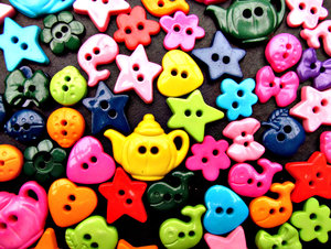 childrens novelty buttons