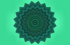 kaleido-star weave - green: abstract backgrounds, textures, patterns, geometric patterns, kaleidoscopic patterns, circles, shapes and perspectives from altering and manipulating images