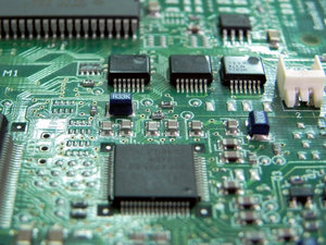 Electronics: late printed with the semiconductors
