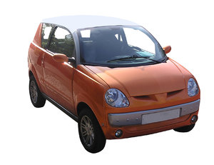 Small car: A compact city car.