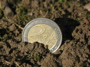 euro in the mud