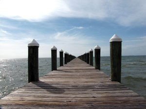 Short Walk: Pier seems to extend forever..........