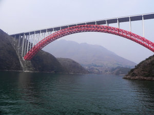 bridge over Yangze: none