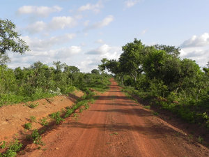road in ghana: none
