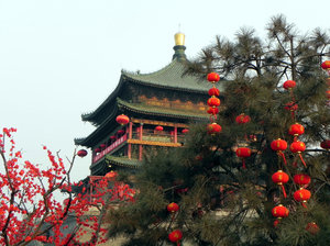 xian,china: Xian, Bell tower