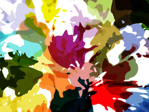 Bright Paint Splashes 2