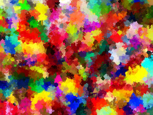 Bright Paint Splashes 1